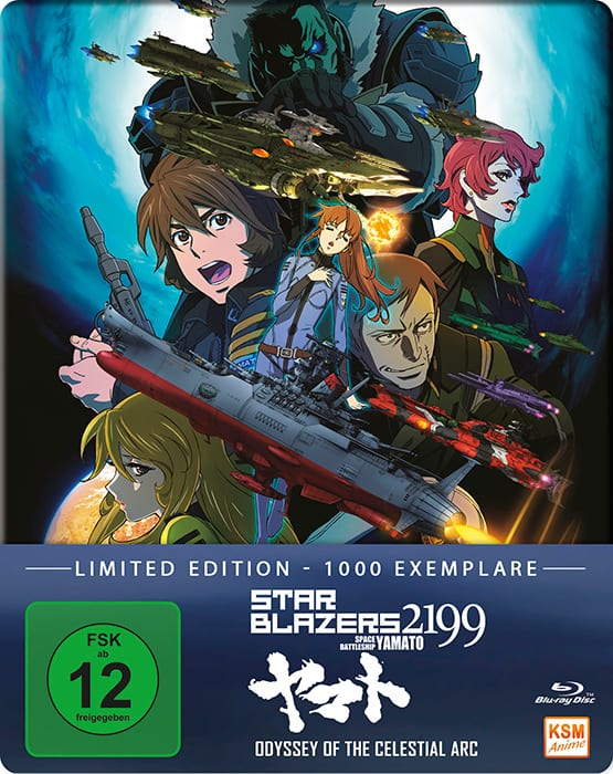 Star Blazers 2199 – Space Battleship Yamato – Odyssey Of The Celestial Arc Cover