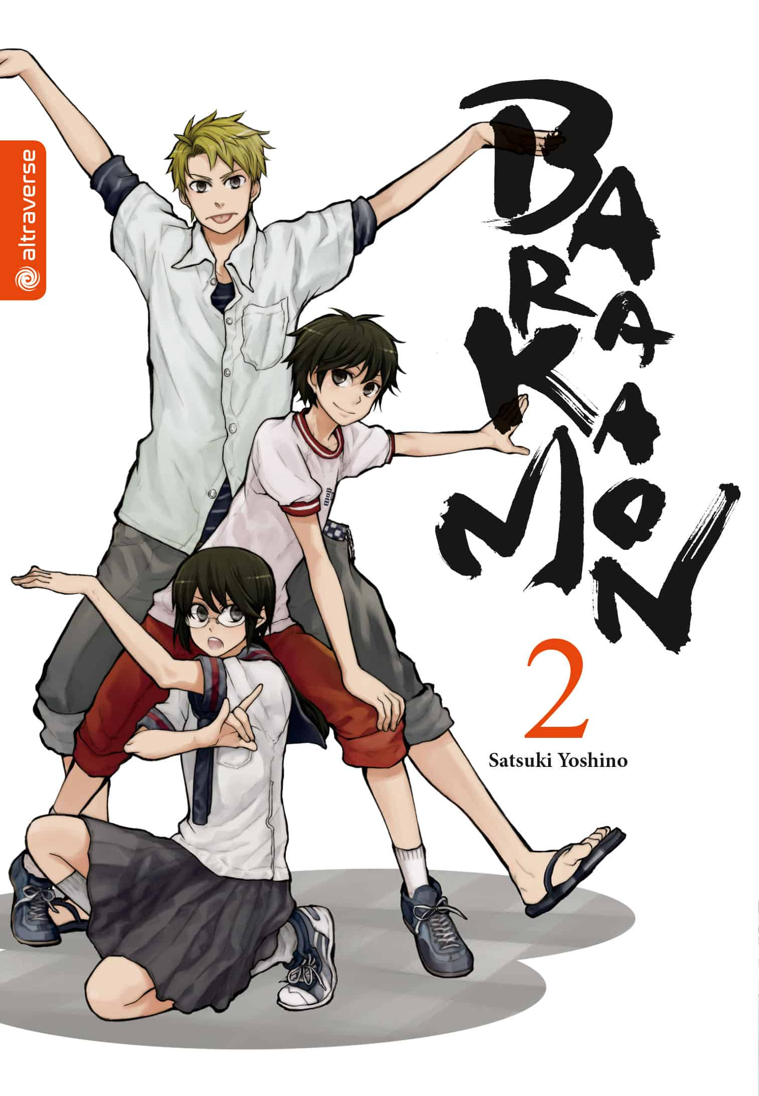 Barakamon 02 Cover
