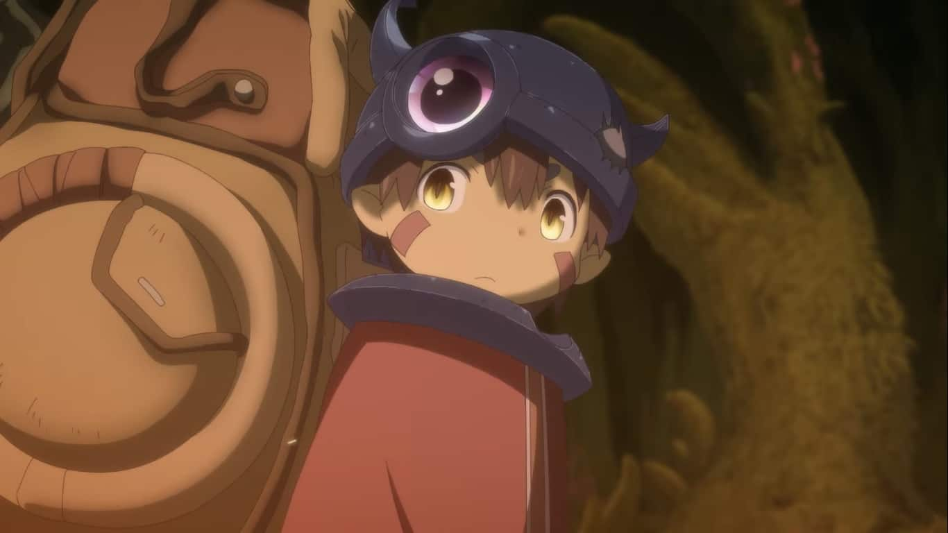 Made In Abyss Movie Cover