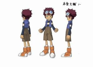 Digimon Adventure Last Evolution Kizuna Charakterdesign