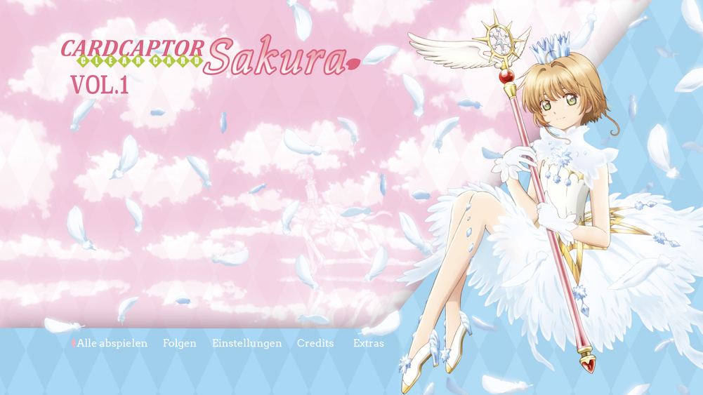 Cardcaptor Sakura – Clear Card Menu