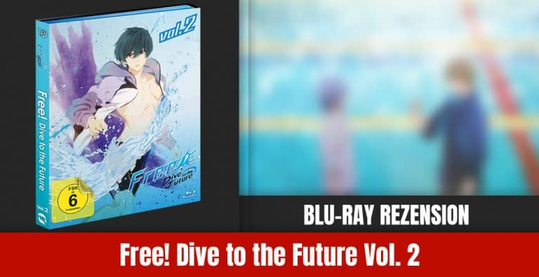 Review: Free! Dive to the Future Vol. 2 | Blu-ray