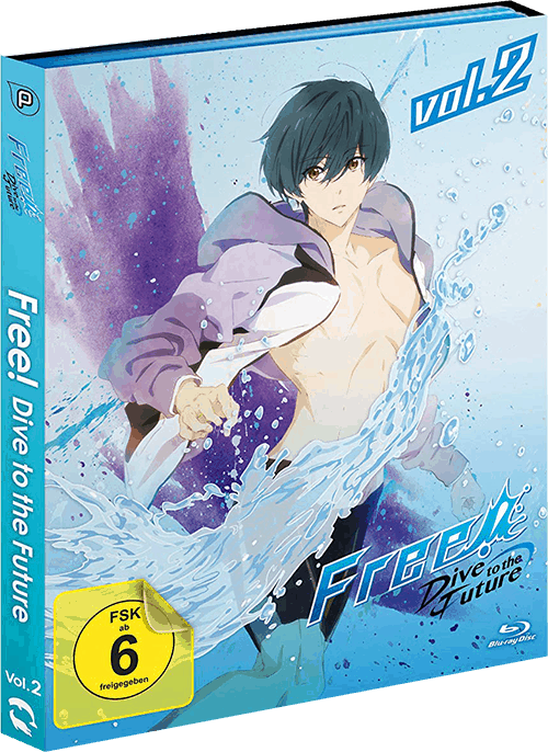 Free! Dive To The Future Cover Vol. 2