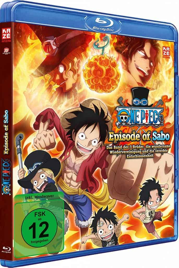One Piece Episode Of Sabo Cover Blu Ray