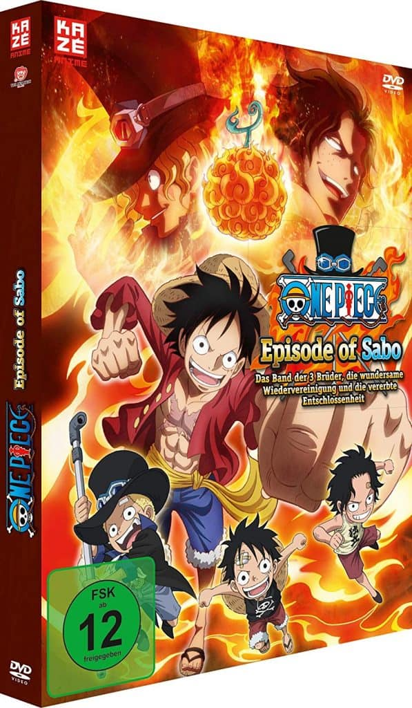 One Piece Episode Of Sabo Cover Dvd