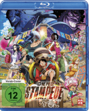 One Piece Stampede Blu Ray