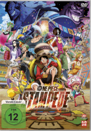 One Piece Stampede Dvd