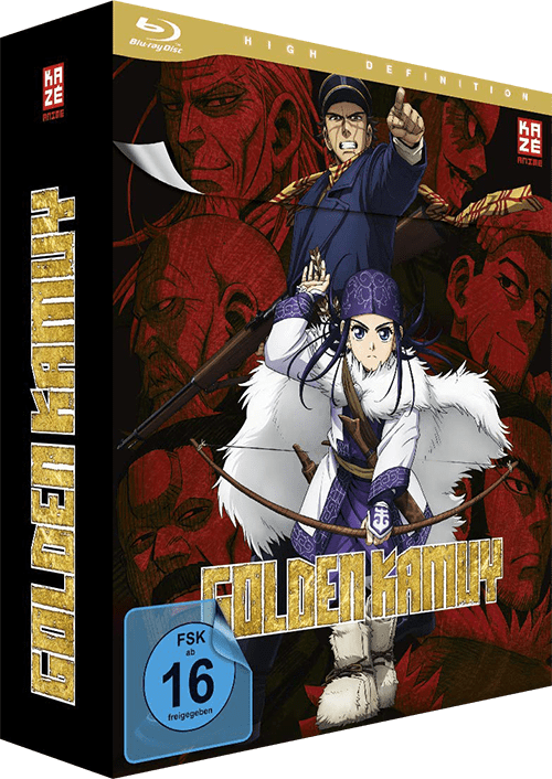 Golden Kamuy Vol. 1 Cover
