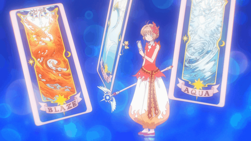 Carcaptor Sakura Clear Card