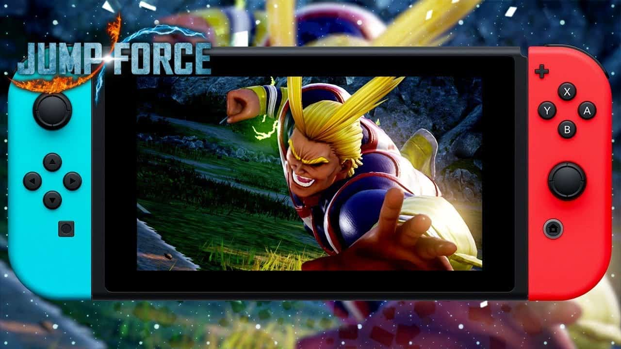 Jump Force Switch Header
