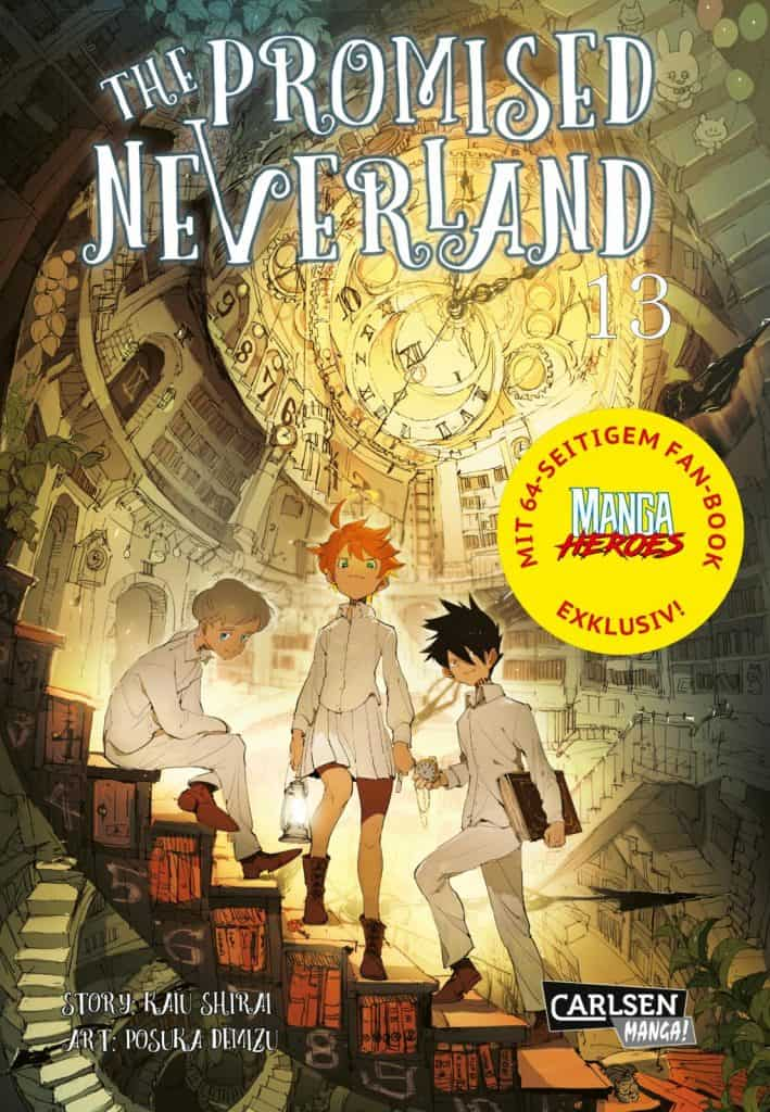The Promised Neverland 13 Limitierte Edition