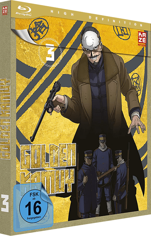 Golden Kamuy Cover Vol. 3
