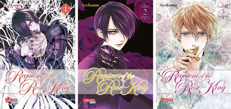 """Manga Spin-off zu """"Requiem of the Rose King"""" geplant"""